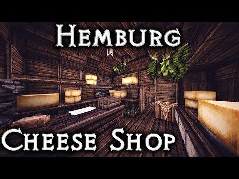 Minecraft: Hemburg - Ep27 Cheese Shop Interior (Live Stream)