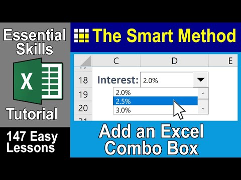 Excel Tutorial: Combobox Excel form control | ExcelCentral.com