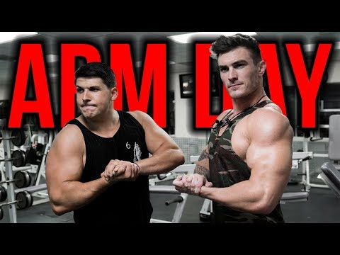 Full Arm Day Workout (BICEPS & TRICEPS!)