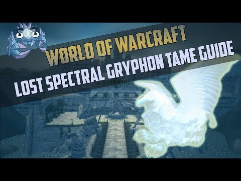 Lost Spectral Gryphon - Rare Hunter Spirit Beast Tame Guide - Where to get it and how!
