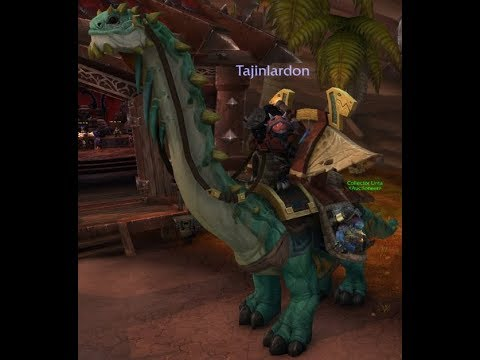 The 5 Million Gold Auction House Mount | Battle for Azeroth Hype