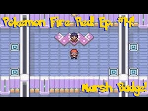 Pokemon Fire Red Unevolved Adventures! Ep #14! The Marsh Badge!