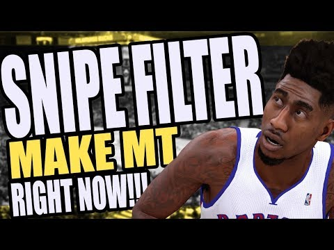 NBA 2K18 - MyTeam - SNIPE FILTER - Make MT RIGHT NOW!!!