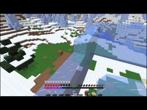 LPS Minecraft S2:E22: Elsa's Ice Castle!