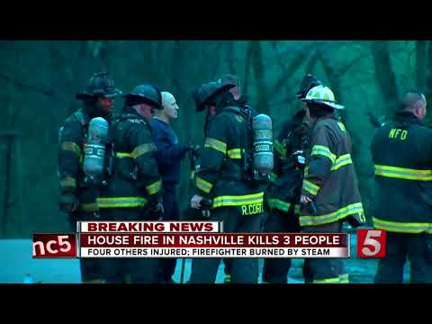 3 Dead, Firefighter Hurt In South Nashville House Fire