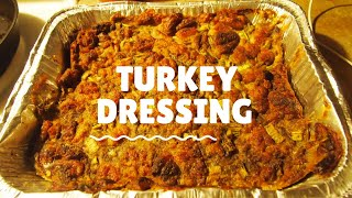Make Ahead Turkey Dressing || Thanksgiving Meal Prep