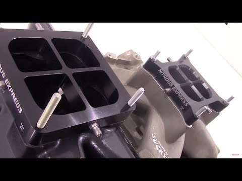 Dual Entry Crossbar Plate Systems from Nitrous Express