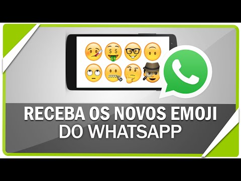 Como ativar os novos emoticons (emoji)  do WhatsApp