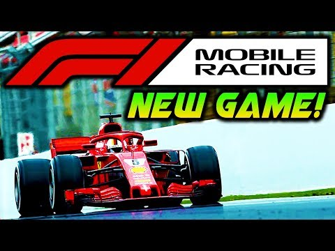 NEW F1 GAME COMING! - F1 Mobile Racing Game - Create Your Own F1 Car!