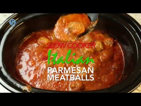 Slow Cooker Italian Parmesan Meatballs | Simplemost