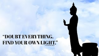 Powerful Buddha Quotes With A Calming Voice  - and soothing piano music