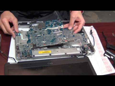 How to install motherboard Dell E6440