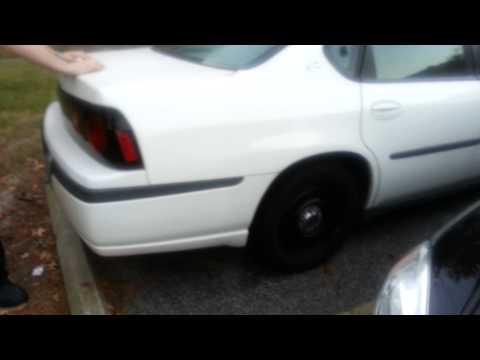 2004 Chevy Impala 9C1 Bad Rear Shocks.