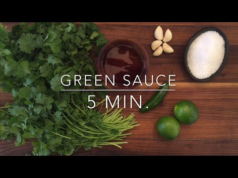 Cilantro Green Sauce Recipe: So Versatile and Delicious!