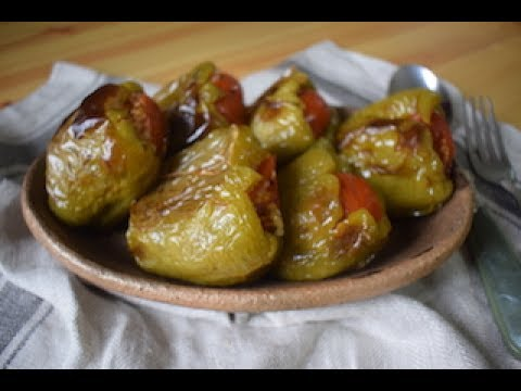 Dolma (Turkish Stuffed Peppers) at Home