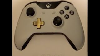 Xbox One Lunar White Controller unboxing