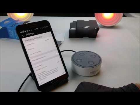 NEW Amazon Alexa Echo Dot Generation II - Device Name Change
