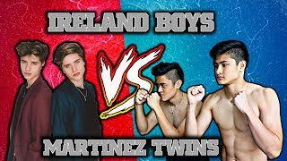 CALLING THE MARTINEZ TWINS OUT TO A BOXING MATCH