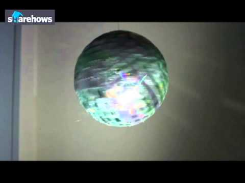 CD로 만든 DIY 미러볼 영상 (DIY Disco Ball Made From CDs Video)