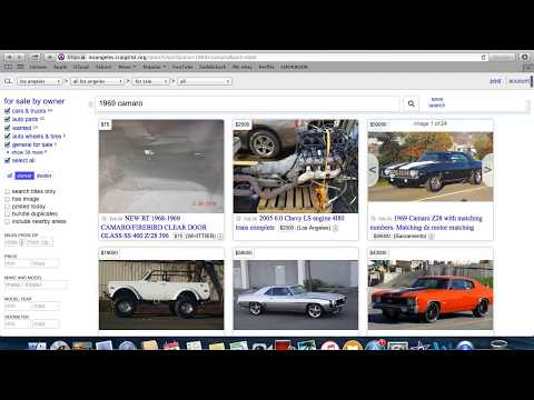 How to get Craigslist Car Flip Alerts sent to your Cellphone