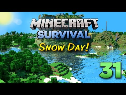 Minecraft Xbox: Let's Play - Snow Day! [Part 31] - Xbox 360 Edition