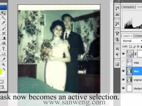 Fixing old Photos in Photoshop