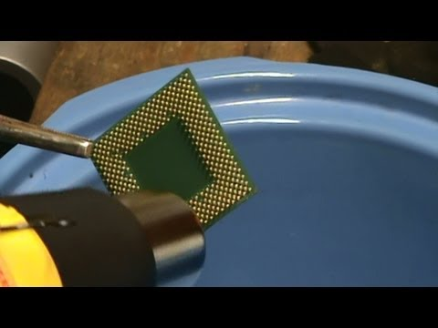 How To Remove Gold Plated Pins from Green Fiber CPU's: Top two methods