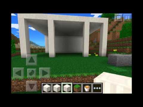 Roman house on minecraft pe