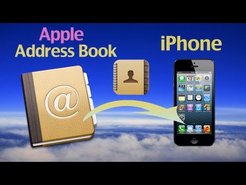 Apple iPhone Backup: How to import Apple Address book to iPhone for Apple address backup?