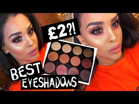 THE CHEAPEST AND BEST EYESHADOWS EVER?! ONLY £2😱 |NikkisSecretx