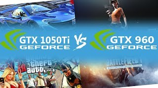 Gtx 1050ti vs Gtx 960 with i5 3570 in 4 Games