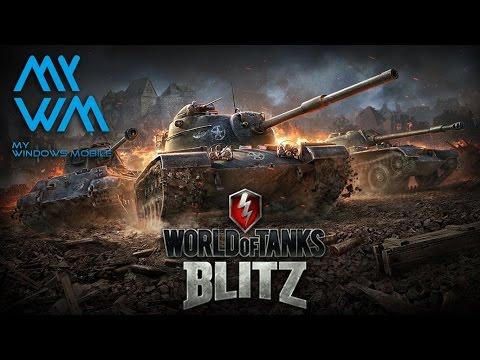 World of Tanks Blitz -  lumia 930 Gameplay