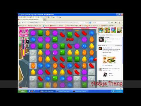 Candy Crush Saga - Two Chocolate Candies switched :x