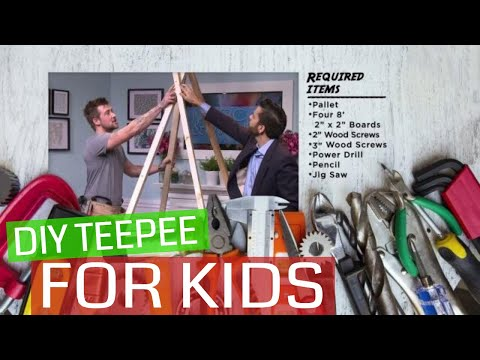 DIY Teepee for Kids | Marc & Mandy Show