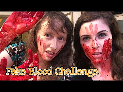 Fake Blood Trials | Damsels in DIY Craft Challenges, Tutorials, Tips and How Tos