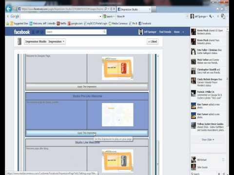 Welcome Tab for Facebook Pages App
