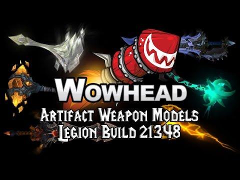 Artifact Weapon Models Legion Build 21348