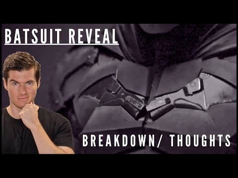 First Look at Robert Pattinson in the Batsuit- My Thoughts