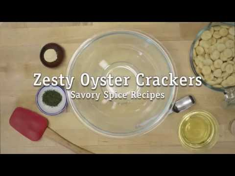Zesty Oyster Crackers Recipe