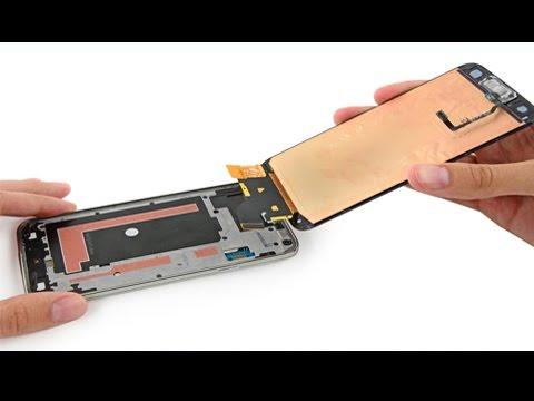 How to repair broken S5 mini LCD screen