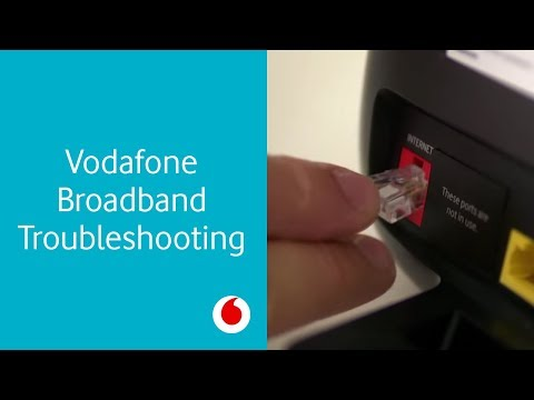 Troubleshooting tips for Vodafone Broadband