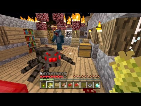 Minecraft Xbox - The Infected Temple - Plane Crash - Part 1