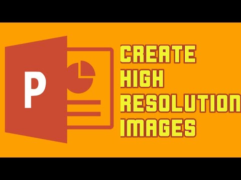 ✓How to Export High Resolution Images from PowerPoint || Convert ppt to image ||
