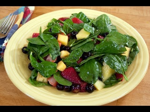 Fresh and Sweet Spinach Salad