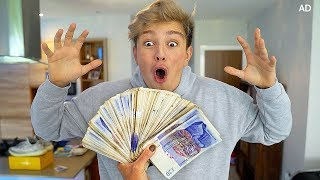 Mom surprises Kid with £1000, but only if...