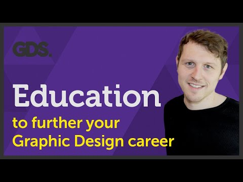 Education to further your Graphic Design career Ep45/45 [Beginners Guide to Graphic Design]