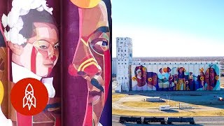 Download How North America's Largest Mural Brings a Community Together Video