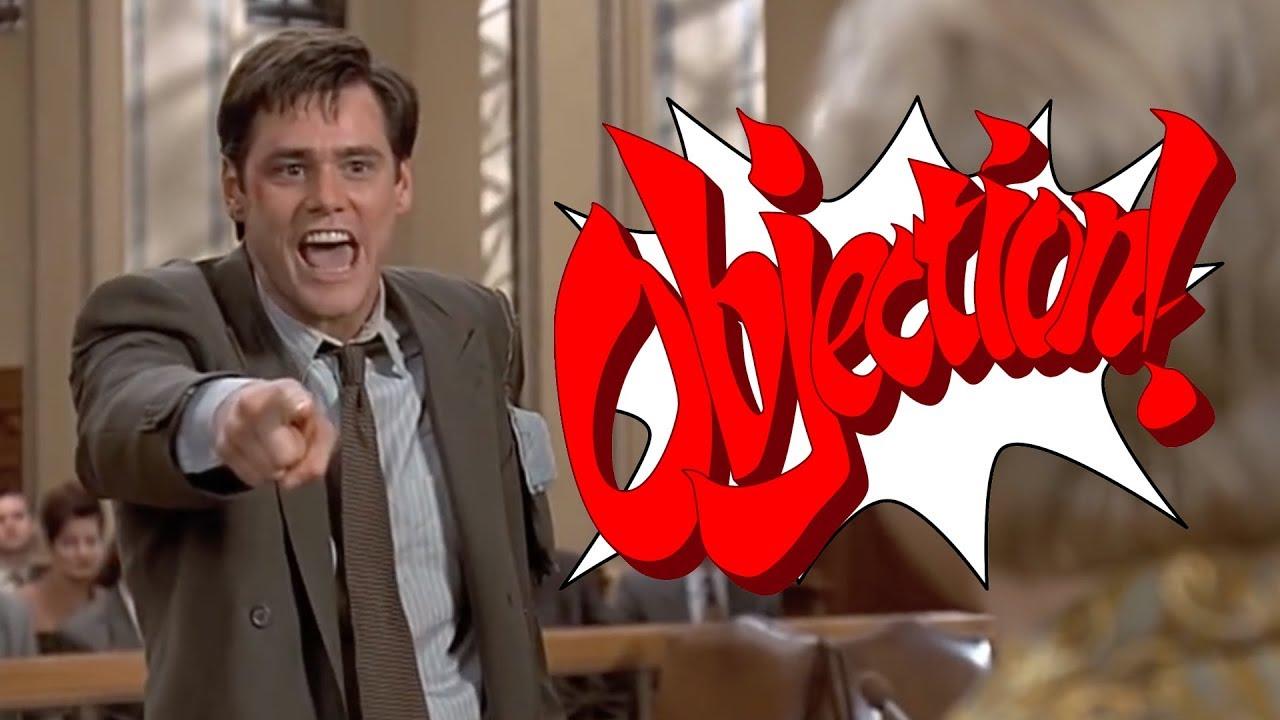 Jim Carrey: Ace Attorney (Phoenix Wright vs Liar Liar)