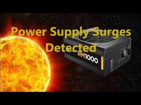 Power supply surges Solved