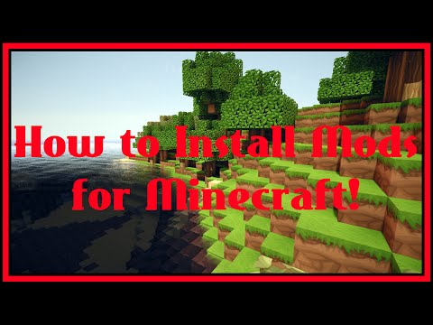 How to Install Mods for Minecraft!